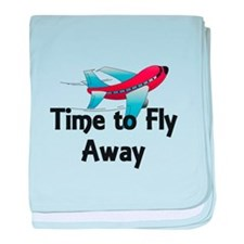 Time to Fly Away baby blanket