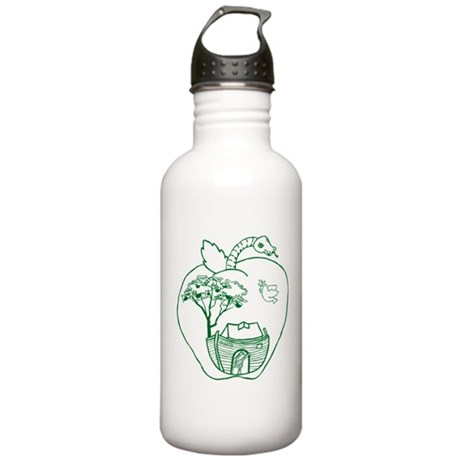 Apple Logo Stainless Water Bottle 1.0L