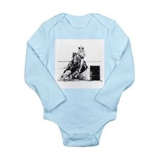 Rodeo Cowgirl Long Sleeve Infant Bodysuit