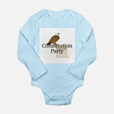 Constitution Party Long Sleeve Infant Bodysuit