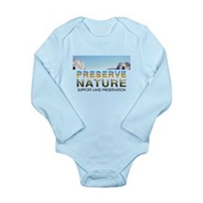 Hurricane Away Long Sleeve Infant Bodysuit