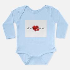 Your Valentine Long Sleeve Infant Bodysuit