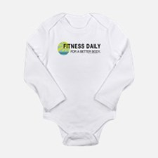 Fitness Daily Long Sleeve Infant Bodysuit