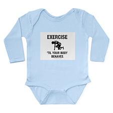 TOP Exercise Cross Train Long Sleeve Infant Bodysu
