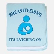 It's Latching On - Infant Blanket