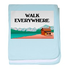 TOP Walk Everywhere baby blanket