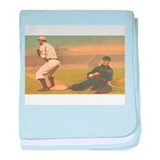TOP Classic Baseball baby blanket