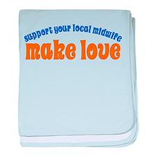 Make Love - Infant Blanket