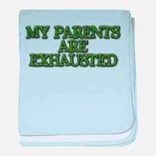 Exhausted Parents - Infant Blanket