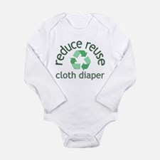 Recycle & Cloth Diaper - Long Sleeve Infant Bo