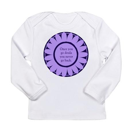 Doula Flower - Long Sleeve Infant T-Shirt