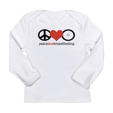 Peace, Love & Breastfeeding Long Sleeve Infant