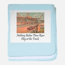 TOP Horse Racing baby blanket