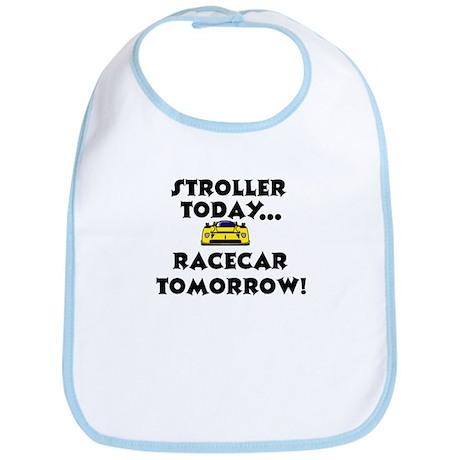 Stroller Today, Racecar Tomorrow Bib