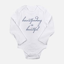 Breastfeeding Is Beautiful - Long Sleeve Infant Bo