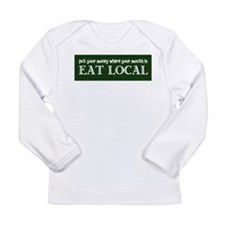 Local Money - Long Sleeve Infant T-Shirt