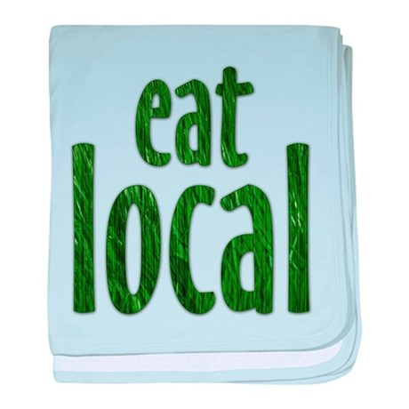Eat Local - Infant Blanket