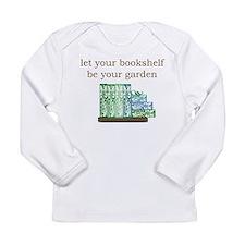 Bookshelf Garden - Long Sleeve Infant T-Shirt