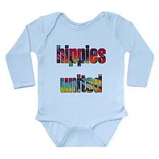 Hippies United - Long Sleeve Infant Bodysuit
