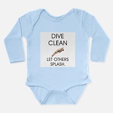Dive Clean Long Sleeve Infant Bodysuit