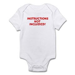 Instructions not Included Infant Creeper
