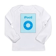 I'Pood Turquoise - Long Sleeve Infant T-Shirt
