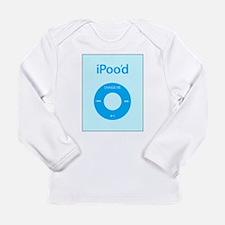 I'Pood Turquoise - Long Sleeve Infant T-Shirt