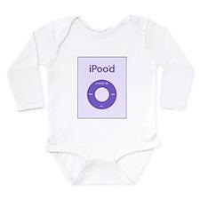 I'Pood Purple - Long Sleeve Infant Bodysuit