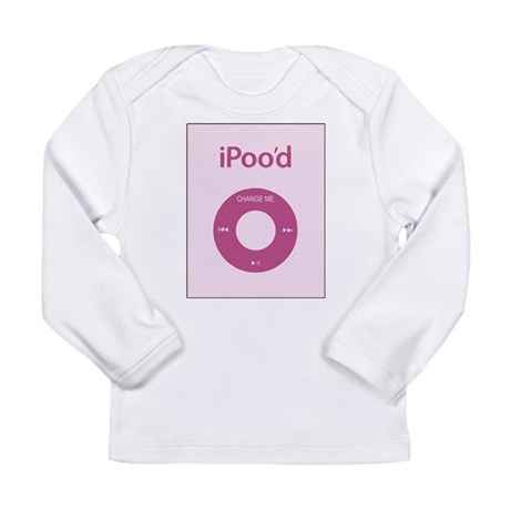 I'Pood Pink - Long Sleeve Infant T-Shirt