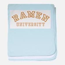 Ramen University Infant Blanket