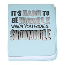 Hard to be Humble Infant Blanket