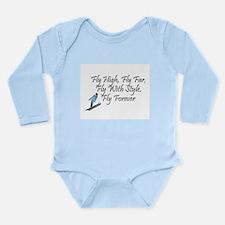Ski Jump Long Sleeve Infant Bodysuit