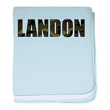 Camo Landon Infant Blanket