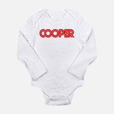 Cooper - Long Sleeve Infant Bodysuit