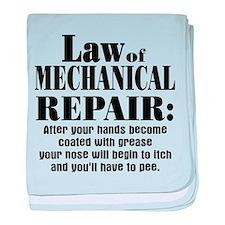 Law of Mechanical Repair: baby blanket
