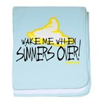 Wake Me When Summers Over baby blanket