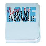 Love Me - Snowmobile Infant Blanket