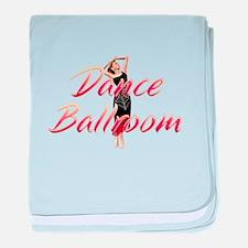 Dance Ballroom baby blanket