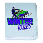 Winter Rules Infant Blanket