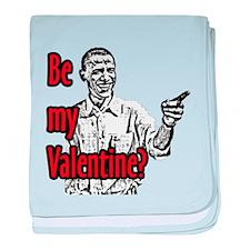 Obama Valentine - Infant Blanket