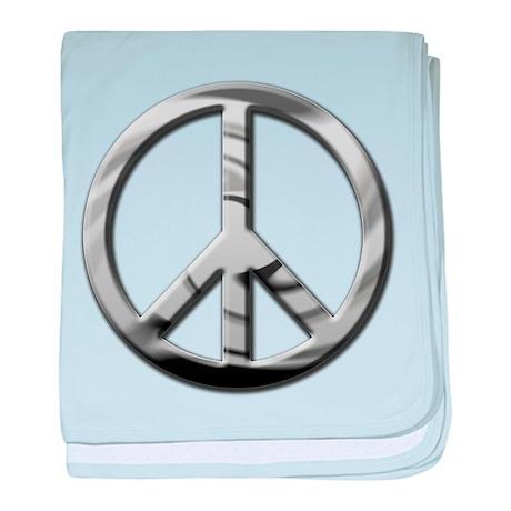 Chrome Peace - Infant Blanket