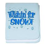 Wishin' For Snow Infant Blanket