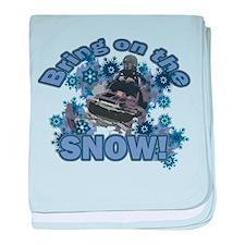Bring On The Snow Infant Blanket