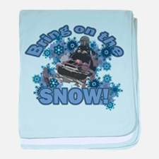 Bring On The Snow Infant Blanket
