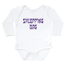 Shlepping Bag - Long Sleeve Infant Bodysuit