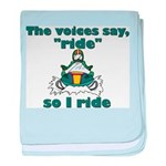 Voices Say Ride Infant Blanket