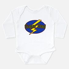 Super Dad - Long Sleeve Infant Bodysuit