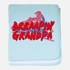 Brraapin' Grandpa Infant Blanket