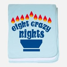 Eight Crazy Nights - Infant Blanket