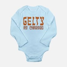 Gelty As Charged - Long Sleeve Infant Bodysuit